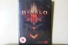 Diablo 3 PC/MAC Dvd Rom Royal Mail 1st Class rápido y libre