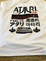 Atari Kanji Licensed Japanese Official 1972 T-Shirt - Men's Size XL