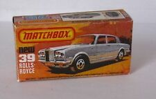 Repro box MATCHBOX superfast Nº 39 rolls royce