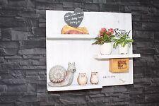 Vintage Regal Küchenregal Shabby Palettemöbel  Board sweet home