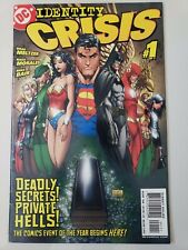 IDENTITY CRISIS #1-7 (2004) DC COMICS FULL COMPLETE SERIES MICHAEL TURNER COVERS