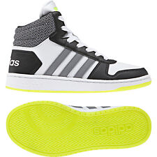 Adidas Neo Cerceaux Mi 2.0 K 37 1/3 Haut Top Basket Basketball Enfants