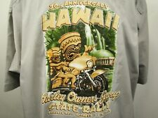 Harley Owners Group State Rally 20th Anniversary Maui 2013 Staff 3XL Shirt