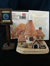 David Winter Cottages The Harvest Moon #D1194, Dinner Party Collection, Signed