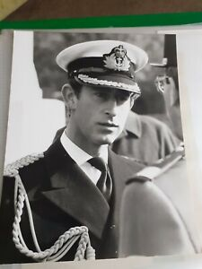 Charles Prince of Wales  1978  press association photo - 8 x 6 inches
