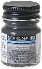 Testors Flat Grimy Black 1/2 oz Acrylic Paint 4887 TES4887