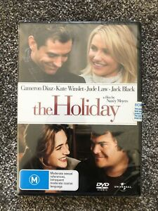 The Holiday DVD - Cameron Diaz, Kate Winslet - Region 4 - Brand New - Free Post