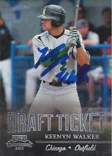 Keenyn Walker Chicago White Sox 2011 Panini Playoff Contenders Signed Card