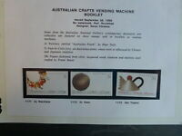 1988 AUSTRALIA SET 3 'CRAFTS' BOOKLET STAMPS