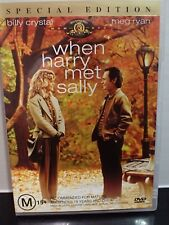 When Harry Met Sally (DVD, R4 PAL) **VERY GOOD CONDITION** Special Edition