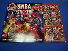 2013-14 Panini NBA Basketball Sticker Collection Album Bonus Packs NEW