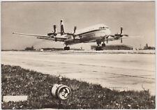 Interflug der DDR 1968 ! Flugzeug Propellermaschine Turboprop IL - 18 !