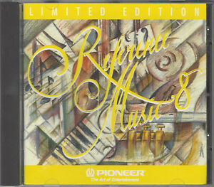 PIONEER - Reference Music 8, limited Edition / Rare CD in Top Zustand, 73:37 min