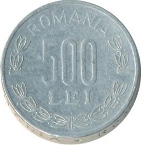 ROMANIA / 500 LEI / 1999                   #WT9068