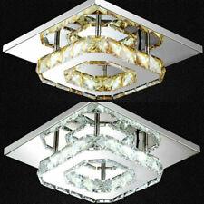 Deckenleuchte Kristall Lampe Wohnzimmer Schlafzimmer Flurleuchte Beleuchtung LED