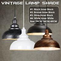 Vintage Industrial Metal Ceiling Pendant Shade Modern Hanging Retro Light  z e`