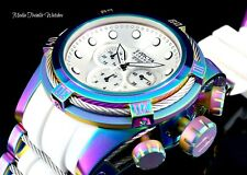 Invicta Reserve Bolt Zeus Swiss Quartz Chronograph Iridescent WHITE dial Watch
