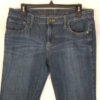 Simply Vera Vera Wang Womens Jeans Bootcut Stretch Denim Blue Size 10