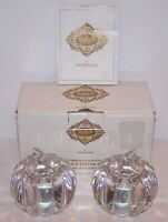 WONDERFUL PAIR OF SHANNON CRYSTAL PUMPKIN COLLECTION SALT AND PEPPER SHAKERS