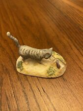 Lowell Davis Rfd Series In A Pickle 225284 1987 Cat & Mouse Figurine Schmid