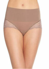 Spanx Undetectable Cheeky Lace Brief Panty SP0415 Shapewear Mineral Taupe Size L