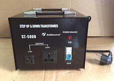 TRANSFORMATEUR ELECTRIQUE 220V 110V ET 110V- 220V 5000W CONVERTISSEUR RÉVERSIBLE