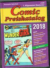 COMIC PREISKATALOG Ausgabe 2018 HartDercover neuwertig 622 Seiten Porto 2,20 €
