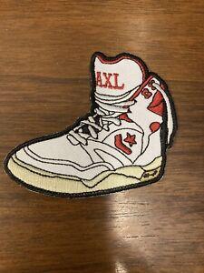 Axl Sneaker Patch, Estranged, Guns N Roses, Slash, Duff McKagan, Axl Rose,