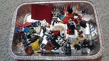 Lego Parts Mini Figure Parts Lot of Assorted Legs, Capes, Torsos, Hats, Etc 2 OZ