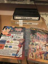 Kabuki Klash Matching Neo Geo Mvs Original