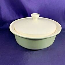 """Wedgwood MOSS GREEN Covered Vegetable Bowl 7 3/4"""""""