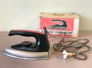 Soviet Electric Flat Iron With Thermostat UT-1000 + Box Russian электроутюг USSR