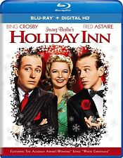 NEW BLU RAY- HOLIDAY INN - BING CROSBY, FRED ASTAIRE , RE-MASTERED -CHRISTMAS