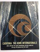 CATATONIA The Home Internationals 1999 Tour Concert Program Book(NOT shirt pin)
