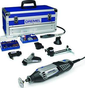 Dremel 4000 Rotary Tool 175W 6 Attachments 128 Accessories Platinum 5000-35000