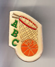 RARE PINS PIN'S .. SPORT BASKET BALL CLUB TEAM ABC FEMININ LIMOGES 87 ~CK