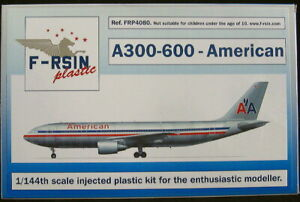 F-RSIN Models 1/144 AIRBUS A300-600 American Airlines
