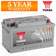 Car Battery YBX5110 Calcium Silver Case SMF SOCI 12V 800CCA 85Ah T1 by Yuasa