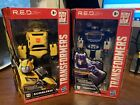 Hasbro Transformers R.E.D Lot Of 2 New/Sealed Soundwave And Bumblebee!!