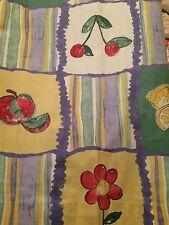 "Vintage Laura Ashley Curtains  60"" W x 58"" L - Nature Trail"