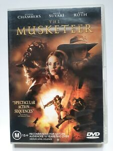 The Musketeer DVD - Very Good Condition - Free Post - Region:4