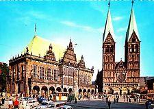Bremen , Rathaus und Dom  , Ansichtskarte , 196? gelaufen