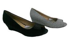 Slip On Synthetic Geometric Heels for Women