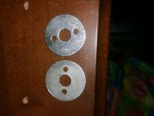 2 x Unterlegscheiben aus Metallblech für  Knopf 91