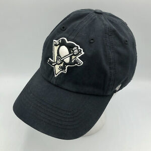 Pittsburgh Penguins Franchise Black Fitted Hat Size Small Cap NHL Hockey