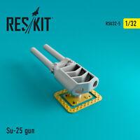 Su-25 gun (Resin Upgrade set) 1/32 ResKit RSU32-0005