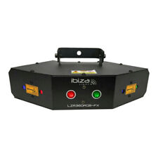 Ibiza Light Four Lense DMX Controlled Laser DJ Disco Lighting FX RGB