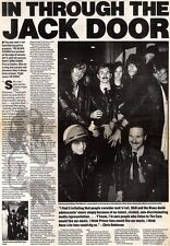 26/1/91 Pgn18/19 Article & Picture The Black Crowes Getting in Through The Jack