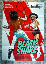 RUSS MEYER * BLACK SNAKE - A1-FILMPOSTER - German 1-Sheet ´73