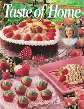 Taste of Home Feb 2000 Economical Chicken Wings Taco Plate for 2 Sweet Desserts